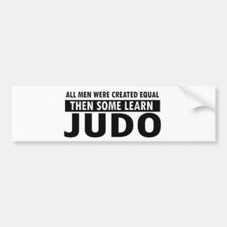 judo designs bumper sticker