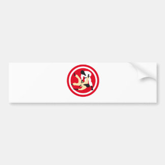 Judo F 3c Bumper Sticker