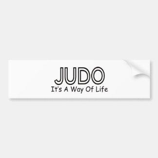 Judo It s A Way Of Life Bumper Stickers