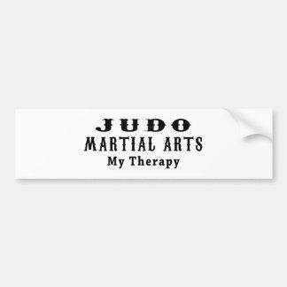Judo Martial Arts My Therapy Bumper Sticker