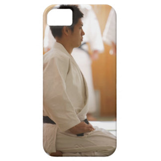 Judo Master Kneeling On a Mat Case For The iPhone 5