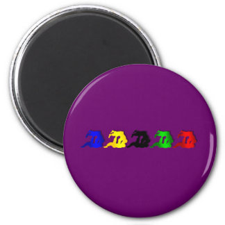 Judo Mens Athlete Martial Arts Womens Sports Fan 6 Cm Round Magnet