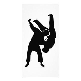 Judo Photo Card Template