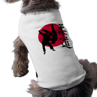 Judo Sleeveless Dog Shirt