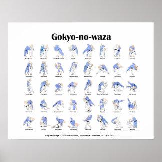 Judo throws print