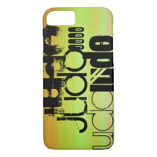 Judo; Vibrant Green, Orange, & Yellow iPhone 8/7 Case