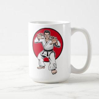 Judo warrior coffee mug