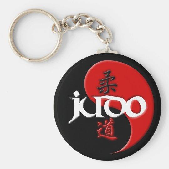 Judo Yin Yang Key Chain