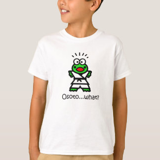 Judoka frog - Osoto-gari T-Shirt