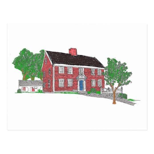 Judson House Postcard