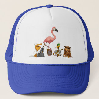 Jug Band O' Birds Hat