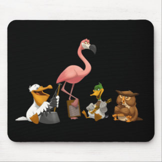 Jug Band O' Birds Mousepad