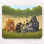 Jug Band of the Apes Mousepad