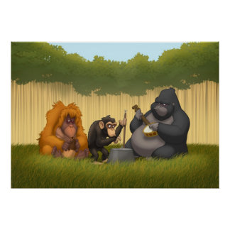 Jug Band of the Apes Poster