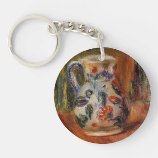 Jug by Pierre-Auguste Renoir Acrylic Keychain
