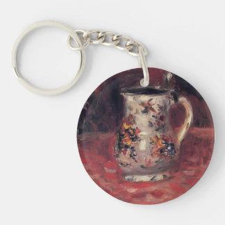 Jug by Pierre-Auguste Renoir Keychains