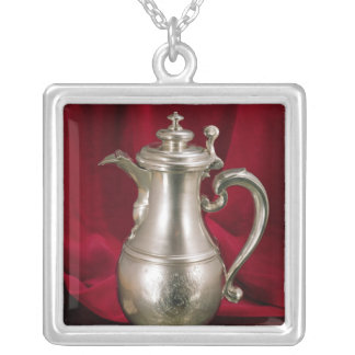 Jug, by Simon Pantin, 1711 Silver Plated Necklace
