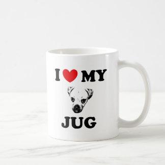 jug dog coffee mug