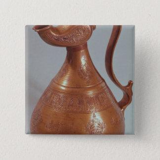 Jug, from Khorasan, Iran, 1218 15 Cm Square Badge