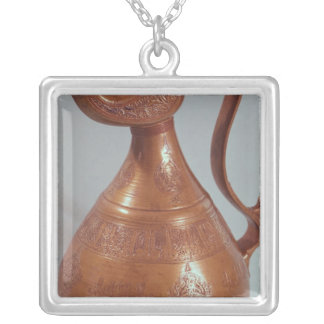 Jug, from Khorasan, Iran, 1218 Silver Plated Necklace