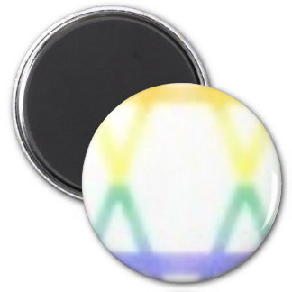 jugayica star  pastel 6 cm round magnet