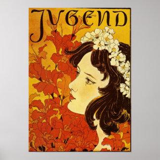 Jugend / Youth - Art Nouveau Poster