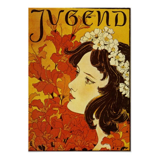 Jugend / Youth - Art Nouveau Poster