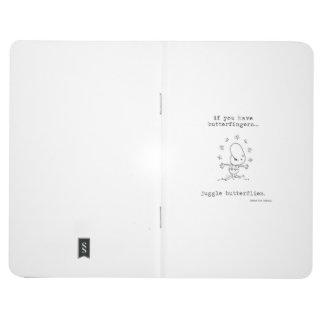 Juggle Butterflies Pocket Journal