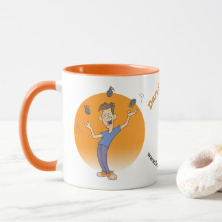 Juggle Donuts Not Grenades! Mug