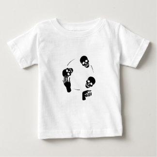 Juggler Skeleton Fun Circus Baby T-Shirt