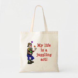 Juggling Act Tote Tote Bags
