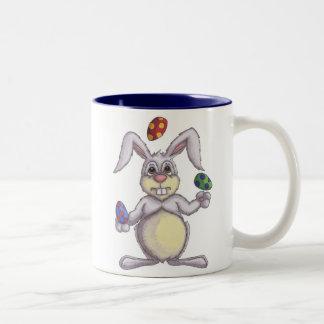 Juggling Bunny Mug