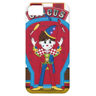 Juggling Circus Clown iphone Case