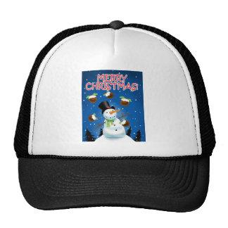 Juggling Snowman Cap