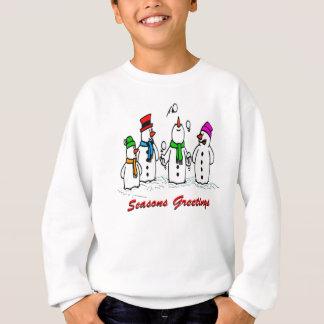 Juggling Snowmen Sweatshirt