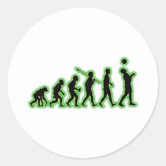 Juggling Classic Round Sticker