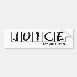 Juice Anti-Drug Bumper Sticker