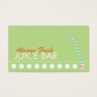 Juice Bar Customer Loyalty Punch