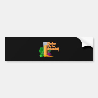Juice For Your Health on 100+ items Valxart com Bumper Sticker