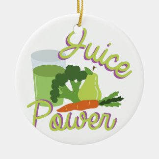 Juice Power Christmas Ornament