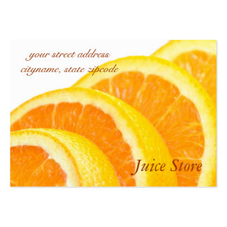 Juice Store Business Card