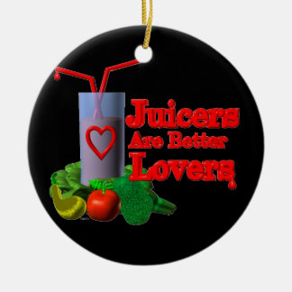 Juicers are better lovers by Valxart.com Christmas Ornament