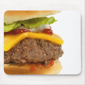 Juicy Cheeseburger Mouse Pads