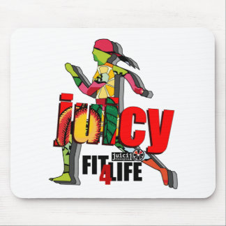 Juicy Fit 4 Life Mouse Pad