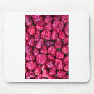 Juicy fresh strawberries mousepad