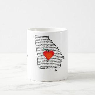 """Juicy Georgia Peach"" Coffee Mug"