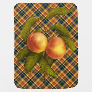 Juicy Georgia Peaches Baby Blanket