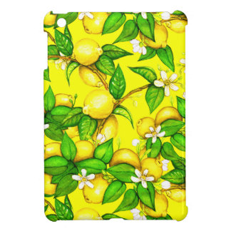 Juicy Lemon iPad Case