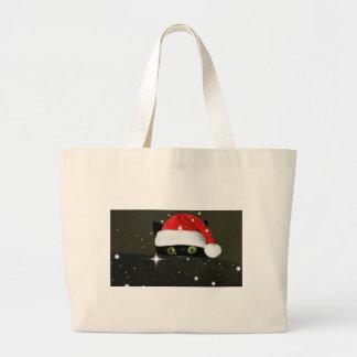 Juicy Lucy Santa Hat Canvas Bag