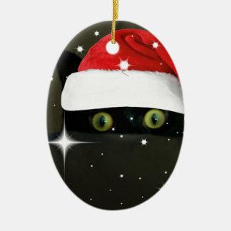 Juicy Lucy Santa Hat Christmas Ornament
